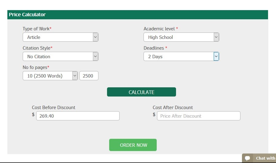 Custom essays online